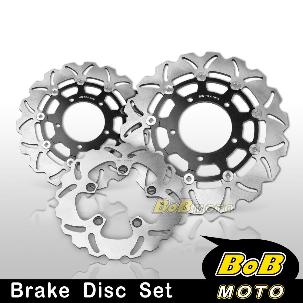 Stainless Steel Front Brake Disc Bolt Kit Suzuki GSXR1000 K5-K6 05-06