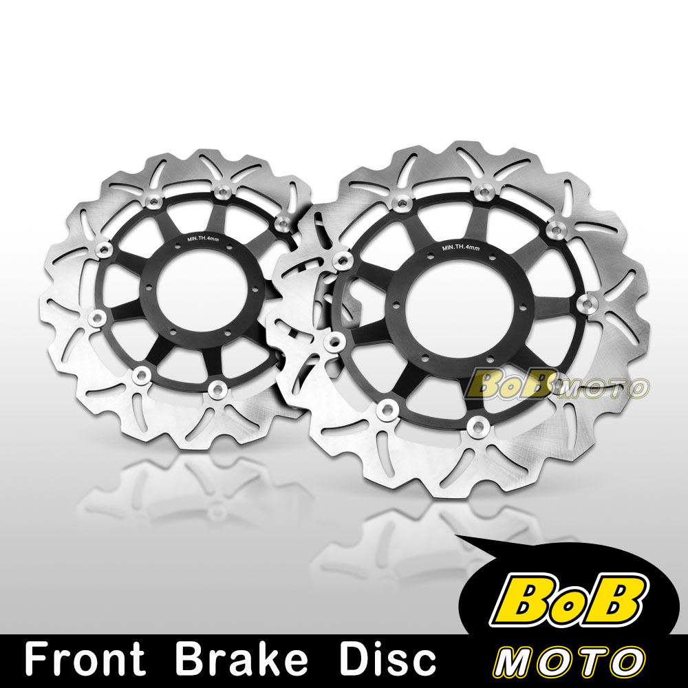 Floating Front Brake Disc Rotor Motorcycle For HONDA CBR600 RR F4 F5 2007-2013