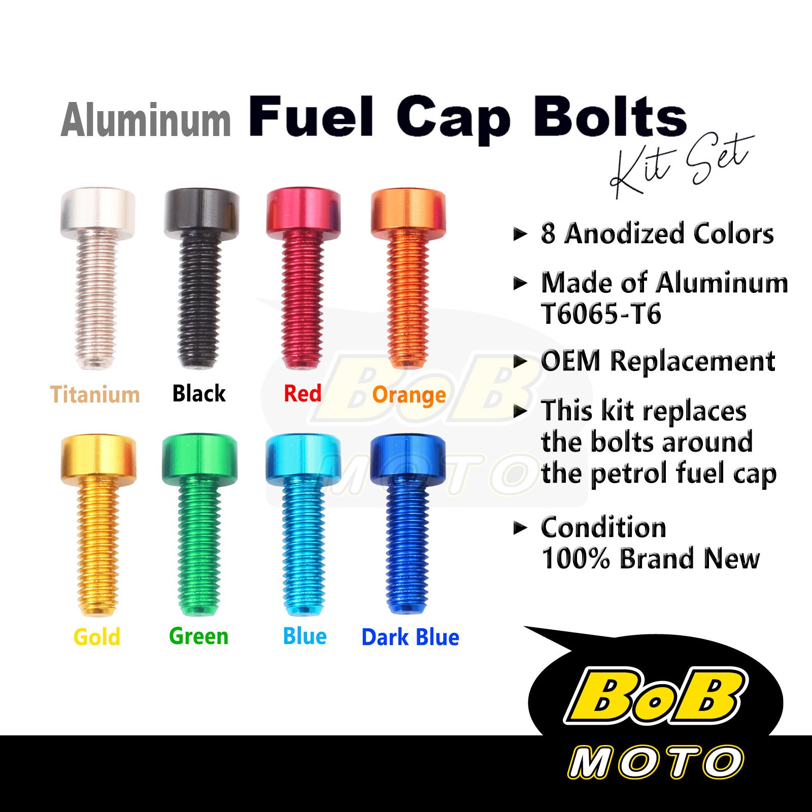 Aluminium Screen Bolt Kit Honda Blackbird Black
