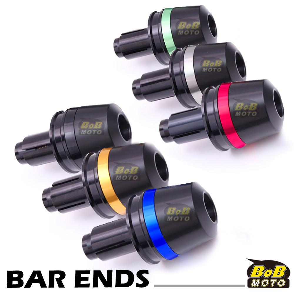 Billet ATOM Bar Ends Sliders Fit Suzuki GSXR600 01-05 05 04 03 02 01