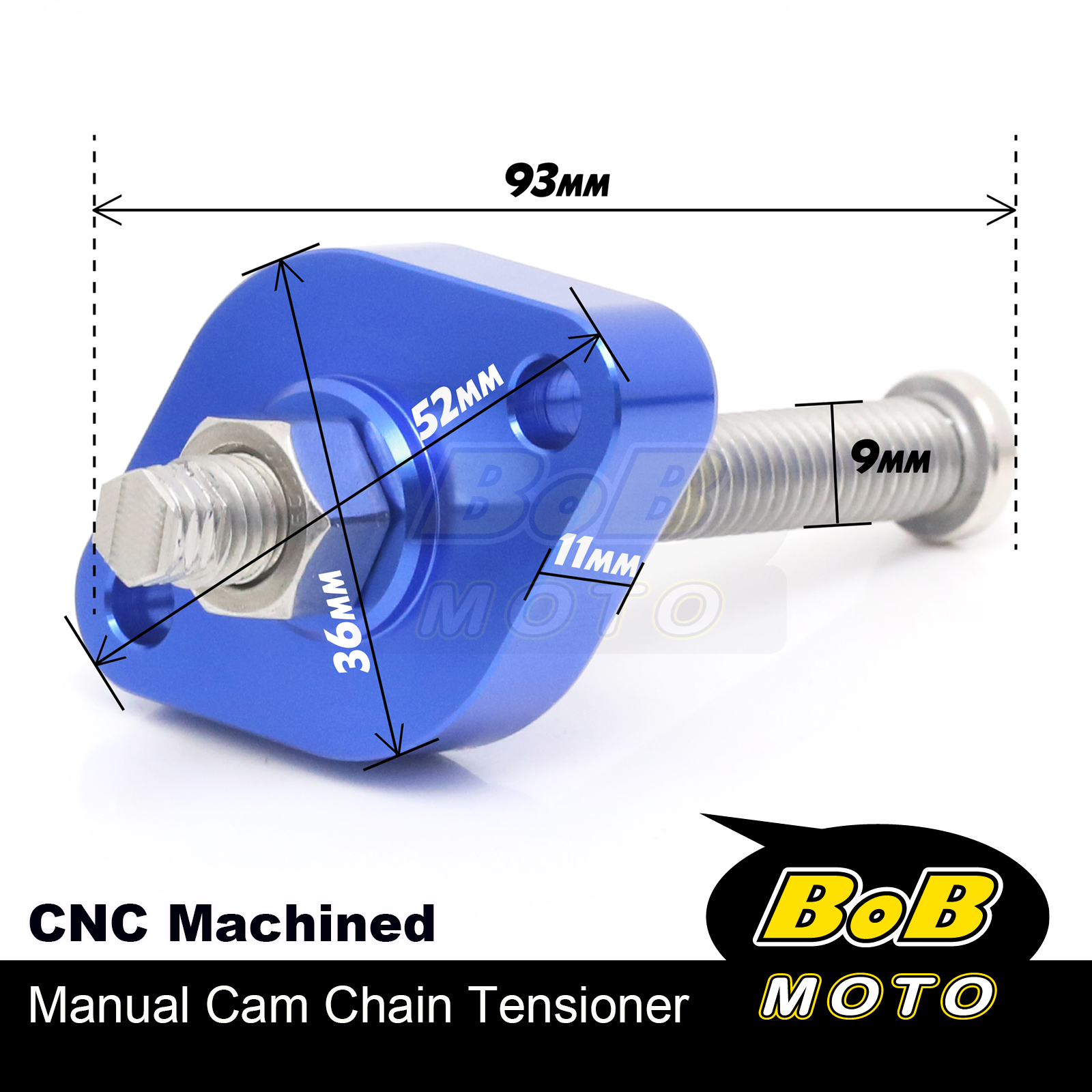 Blue-Precision-HP-Cam-Chain-Tensioner-Fit-YFB250-BEAR-TRACKER-1999-2002 thumbnail 4