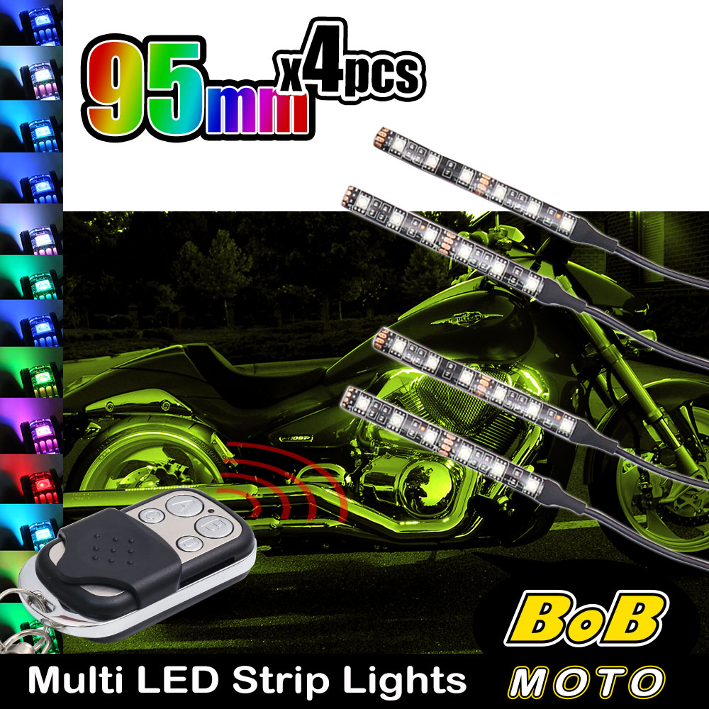 95mm multi color changing led rgb light strip wremote control for 95mm multi color changing led rgb light strip wremote control for ktm bikes aloadofball Image collections